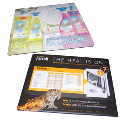 promotional counter mats